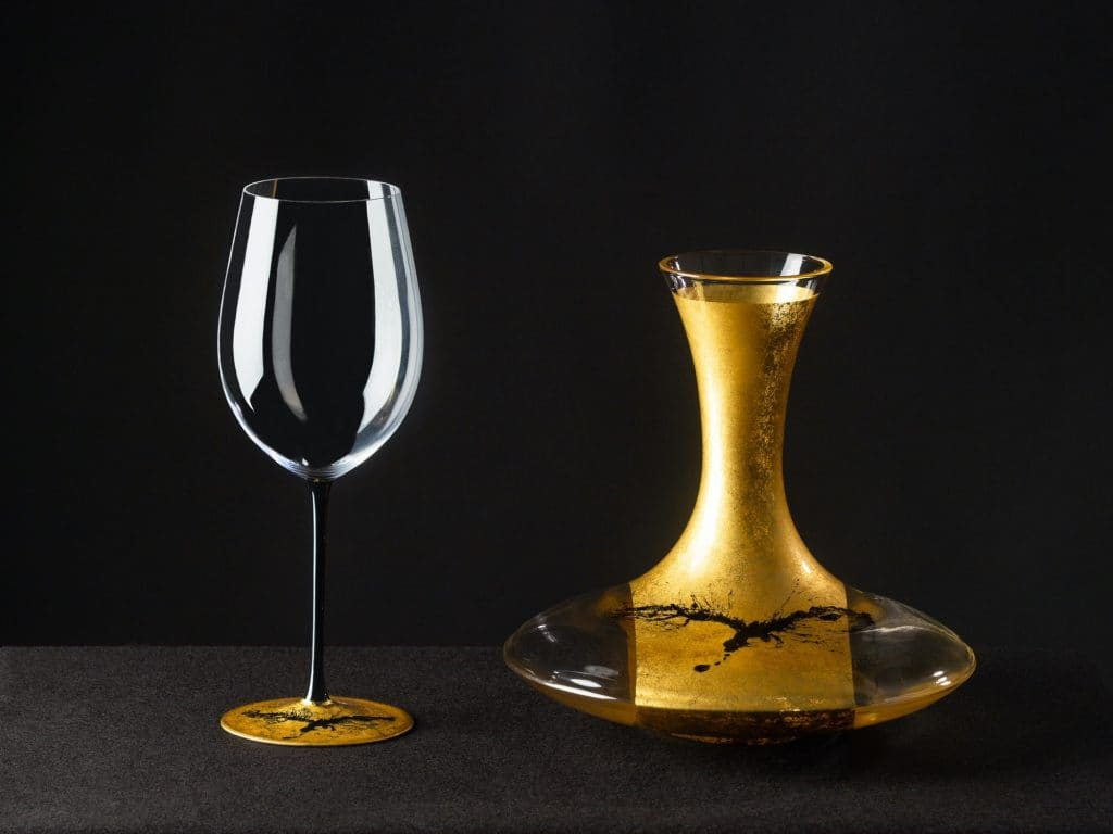 Hewett's Riedel Bushido Series Decanter and Glass